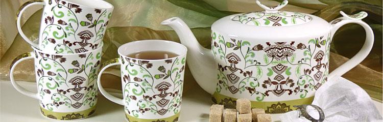 Teekannen, Teeservice