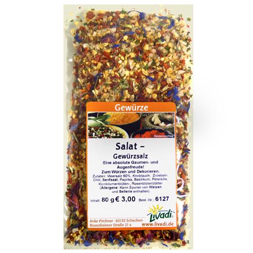 Salat-Gewürzsalz, 80g, Prämiengeschenk
