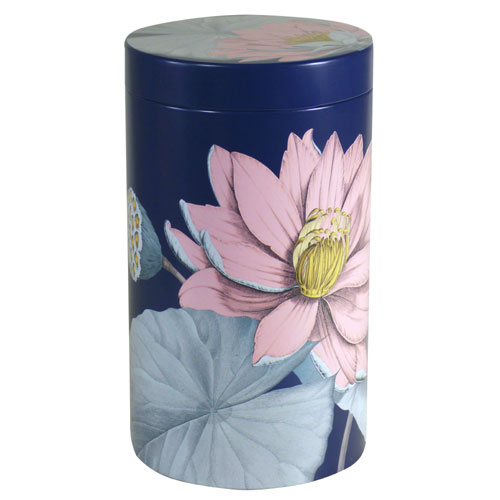 Dose Lotusblüte, blau, 500g