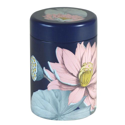 Dose Lotusblüte, blau, 125g
