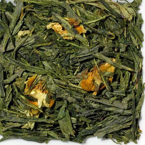Grüner Tee Paradiesapfelblüte, Biotee
