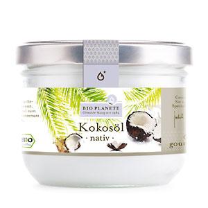 Kokosöl, nativ, Bio, 200 ml