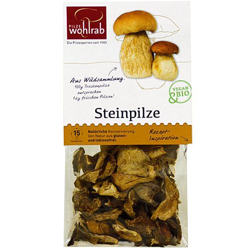 Steinpilze getrocknet, Bio