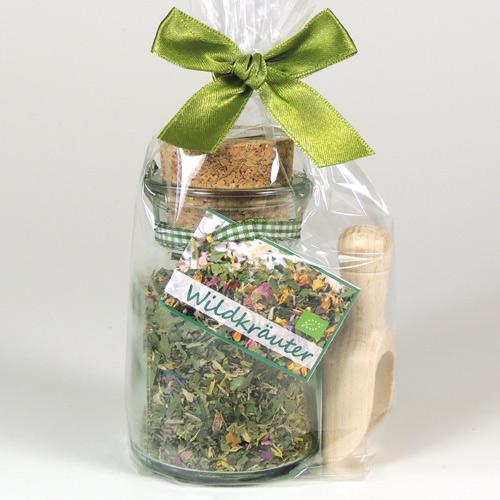 Wildkräutermischung Geschenkset, Biogewürz
