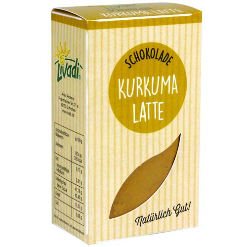Kurkuma Latte Schokolade