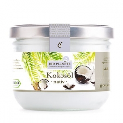 Kokosöl, nativ, Bio, 200 ml