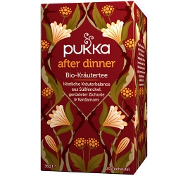 Pukka After Dinner, Biotee<br>Aufgussbeutel