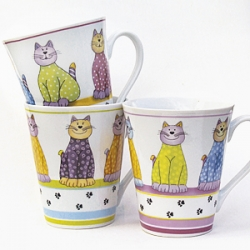 Becher Sweet Cats, 3er Set<br>Angebot